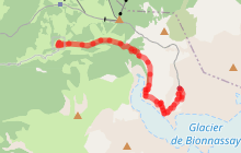 Bionnassay - Nid d'Aigle