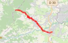 Chemin de Montaigne - Etape 3 - Brindas > Saint-Bonnet-le-Froid