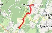 Liaison Vovray-en-Bornes - Cruseilles