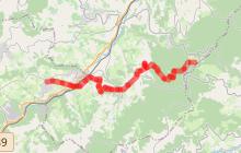 Chemin de Montaigne - Etape 4 - Saint Bonnet le Froid > Brussieu