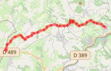 Chemin de Montaigne - Etape 5 - Brussieu < La Rochetière (Haute-Rivoire)
