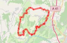 Boucle équestre - Balcon des Alpes
