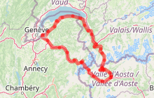 Circuit découverte : Le tour du Mont-Blanc par son tunnel