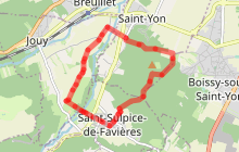 La vallée de la Renarde autour de Saint-Sulpice-de-Favières