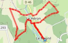 La Vallée du Tôt - Le Héron
