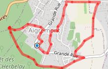 Le chemin des écoliers à Aigremont