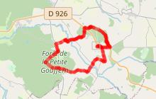 Boucle autour du Haras du Pin, nommée«la pierre levée» : 14 km / 3h30