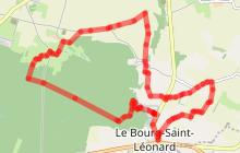 Circuit de «Fougy»: 13 km / 3h25