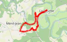 Circuit des Méandres de l'Orne: 7,5 km/1h50