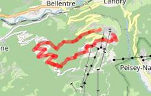 Itinéraire de randonnée : Les Coches par La Pierra