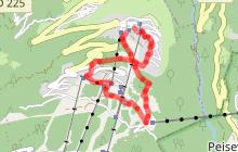Itinéraire de randonnée  : Le Vanoise Express
