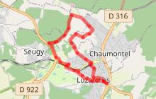 Circuit Luzarches - Seugy - Chaumontel