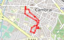 Cambrai, la cathédrale et son quartier