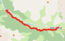 Le sentier des Cascades