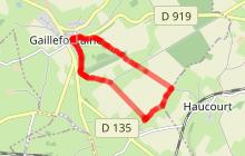 Randonnée n°5 Gaillefontaine-Château