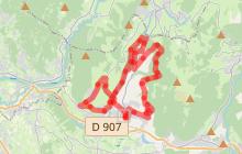 Les sentiers de Viuz-en-Sallaz