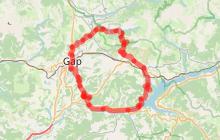 Boucle du barrage de Serre-Ponçon