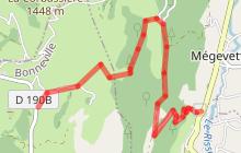 Sentier de randonnée - Plaine-Joux depuis Mégevette
