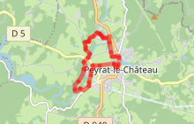 Circuit de Peyrat-le-Château
