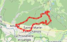 """Circuit pédestre """"Les 2 chapelles"""" - Vosges du sud"""