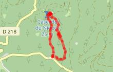 Randonnée La cascade du Nideck