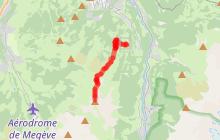 Itinéraire trail intermédiaire - Diagonale du Mont-Joly