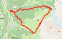 Itinéraire trail intermédiaire - col du tricot