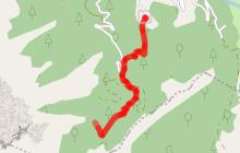 Chalet de Mont-Ferront - Randonnée