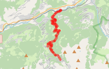 Itinéraire VTT Dré Val