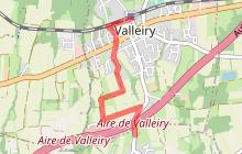 Itinéraire gris : Valleiry - Jurens