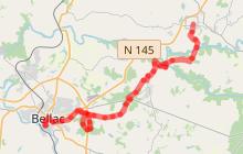 La Traversée du Haut Limousin étape 8 (Droux-Bellac)
