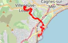 Circuit cyclotouristique La Villeneuvoise