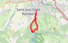 Saint-Just Saint-Rambert/barrage de Grangent - A la découverte des bords de Loire
