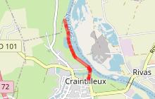 Craintilleux - A la découverte des bords de Loire - attention chemin fermé temporairement