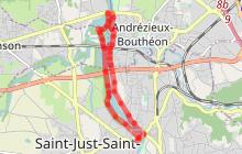 Saint-Just Saint-Rambert / Saint-Cyprien - A la découverte des bords de Loire