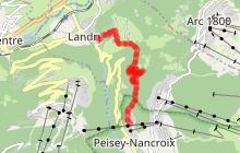 Landry vers Le Martorey