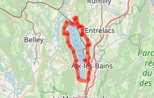 Tour du lac du Bourget (Savoie Rando Lac entre 3 et 4 jours)