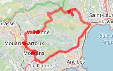 Valbonne, Mouans-Sartoux et Mougins