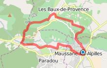 De Maussane aux Baux-de-Provence