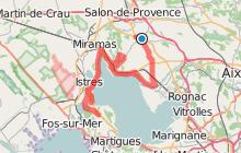 De Lançon-de-Provence à Saint-Mitre-les-Remparts