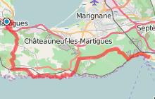 De Martigues à Marseille par la Côte bleue