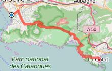 De Marseille à La Ciotat par la route des Crêtes