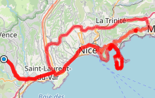 Villefranche sur mer, Saint-Jean-Cap-Ferrat et Eze.