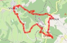 Sentier La Tour Matagrin