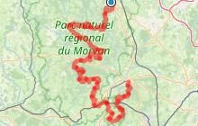 Grande Traversée du Morvan - Saulieu/Autun
