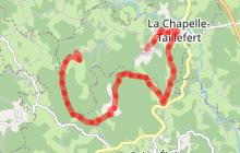Circuit de randonnée pédestre n° 10 Les cascades de la Rebeyrolle