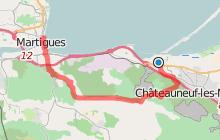 GR2013 : De Châteauneuf les Martigues à Martigues