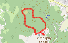 Circuit de randonnée pédestre n° 17 Le Maupuy et ses Pierres Civières