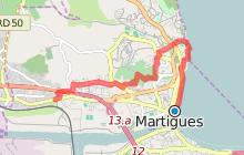GR2013 : De Martigues à la gare de Croix Sainte