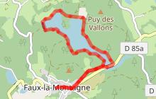 Circuit du lac de Faux